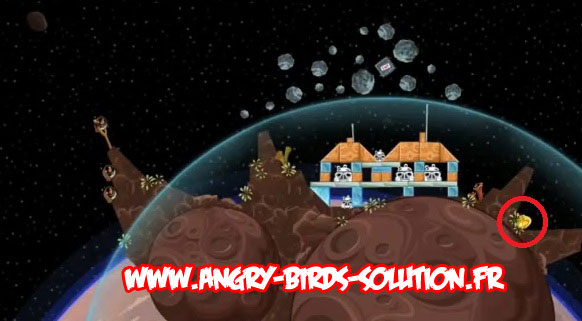 Solution Golden Droid #3 (Angry Birds Star Wars, niveau 1-31)