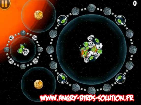 Niveau bonus #7 d'Angry Birds Star Wars
