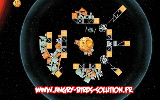 Niveau bonus #8 d'Angry Birds Star Wars