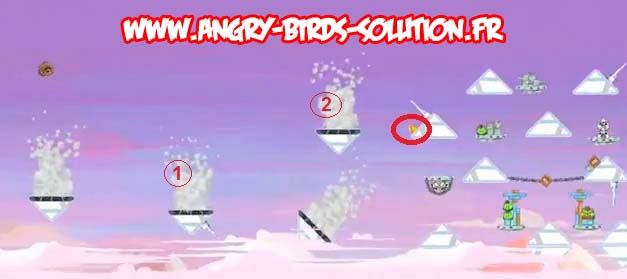 Soluce Golden Egg #8 (niveau 4-14 d'Angry Birds Star Wars)